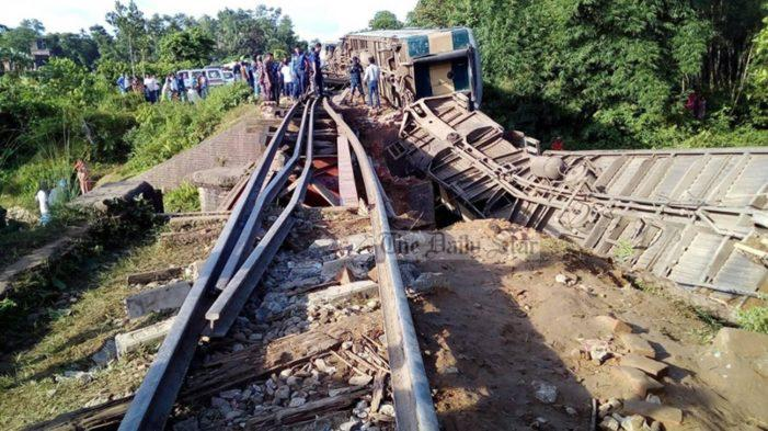 Train Mishap: 15 killed in collision, scores wounded
