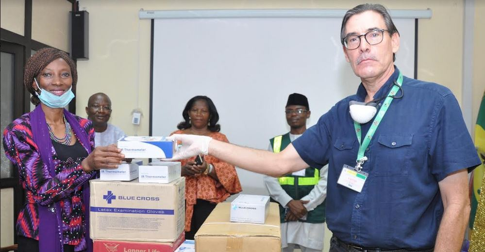 ENL supports fight against COVID-19with donation ofProtective Kits to NPA