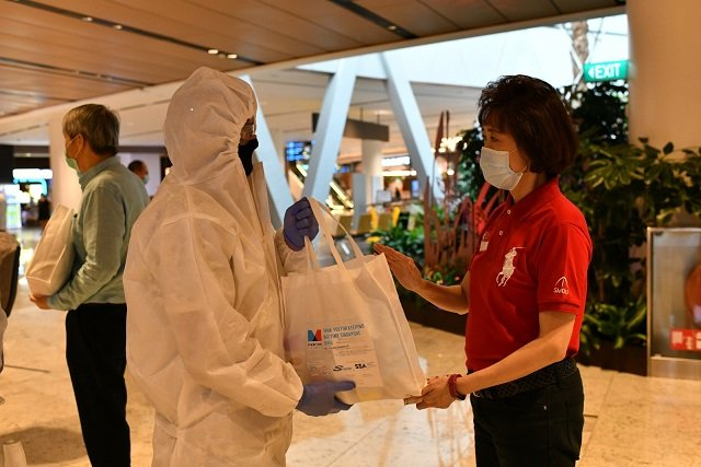 Singapore approves over 4,000 crew change cases during coronavirus pandemic.