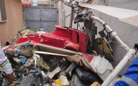 Ikeja Lagos crashed helicopter had no fuel – Report