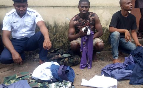 Police nabs two men for impersonating Naval officers