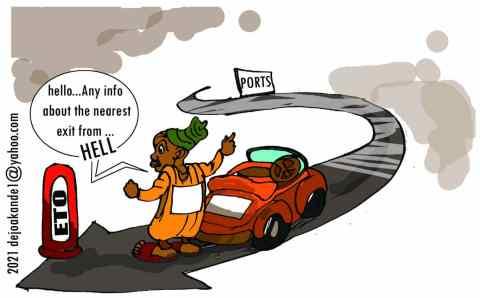 ETO: Searching for Sanity in Apapa Traffic Nightmare