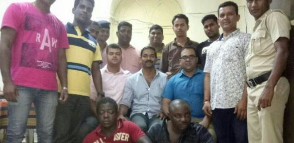 Two Nigerian Men Arrested With Cocaine In India (Photo)
