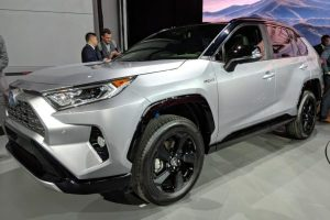 Toyota Showcases New RAV4 At Motor Show