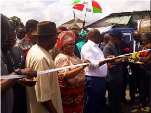 Photos: Wike, Mama Peace, Secondus at the Commissioning of Road Named After Patience Jonathan