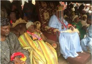 Olubadan and Traditional Chiefs Fight Over Masquerade Directive in Ibadan. Photos
