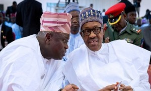 2019: President Buhari Meets With Ambode Behind Closed Door
