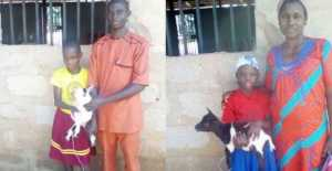 Best Students Allegedly Receive Goats As Gift In Anambra State (Photos)
