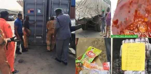 Nigerian Customs Intercepts N27 Million Stew Imported from China