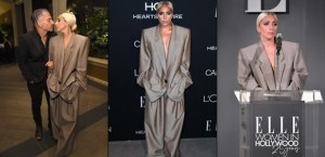 Lady Gaga Confirms Engagement, Explains Why She Wore Oversize Suit