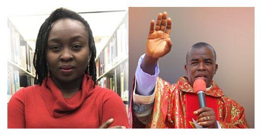 Abimbola Adelakun and Father Mbaka