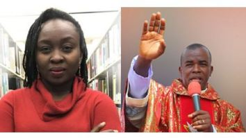 Abimbola Adelakun and Father Mbaka