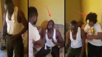 Ghanaian Pastor video, Ghanaian Pastor Caught, Infidelity, Video of Ghanaian Pastor caught