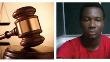 Victor Oji prison, set girlfriend ablaze