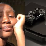 Nigerian Lady save for Playstation 5