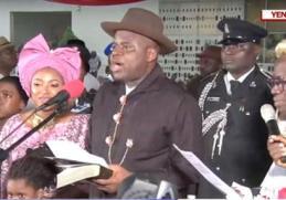 Douye Diri Sworn In As Bayelsa Governor