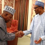 Senator Shettima and Buhari