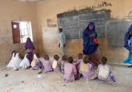 SEE Photos Of Another Dilapidated Primary School In Kebbi Where Pupils Sit On Bare Floor