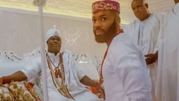 Fashion Entrepreneur, Swanky Jerry, Pays Courtesy Visit To Ooni of Ife, Oba Adeyeye Enitan Ogunwusi