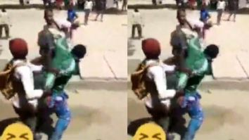 Video Of Secondary School Students Beating Their 'Teacher' In Katsina Goes Viral