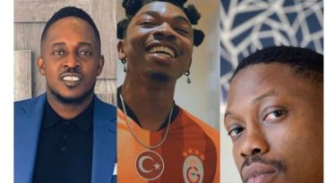 Nigerians React As Mayorkun Reveals He Featured 'Arch-enemies' M.I And Vector In His New Song