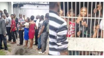 COVID-19 Lockdown: 100 People Arrested In Rivers State For Violating Restriction Order (Photos)