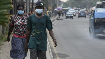 Wearing of face mask in Nigeria