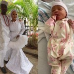 Kraks TV's Femi Bakre and wife Mariam welcome their first child
