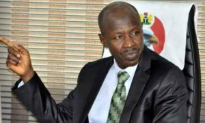 Ibrahim Magus, Magu speaking, EFCC Boss