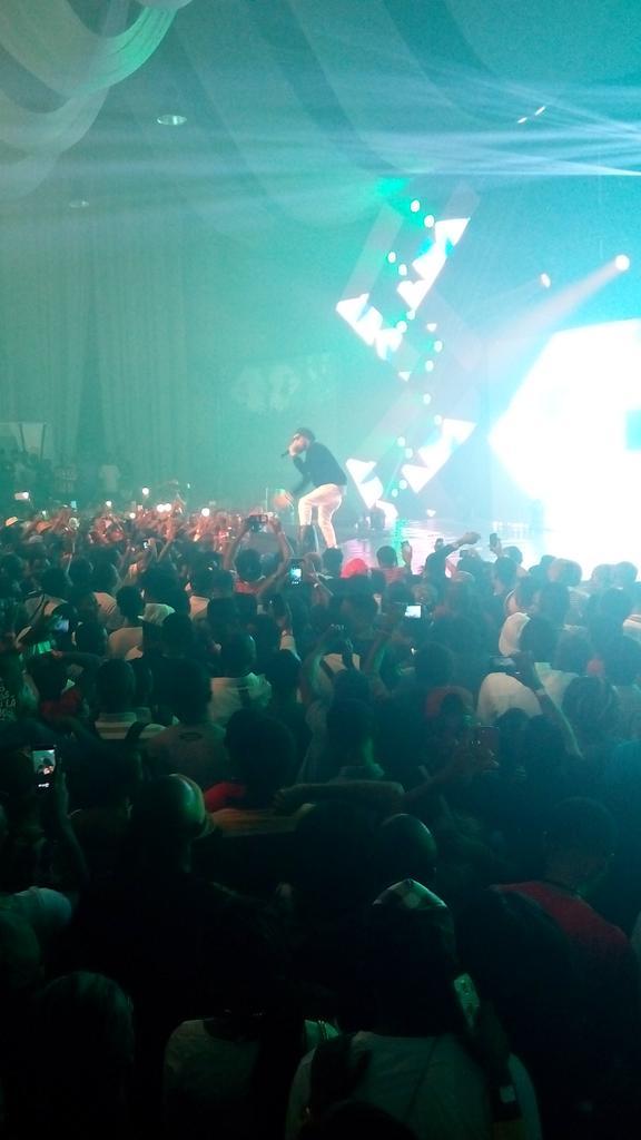 2015 Soundcity Urban Blast Festival Phyno