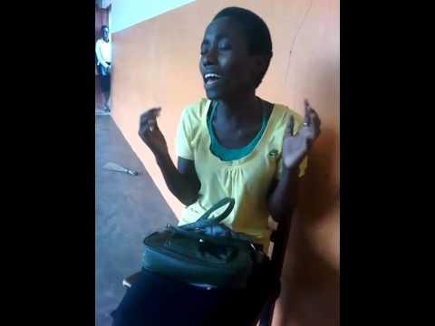 African School Girl Sings Beyonce's Halo