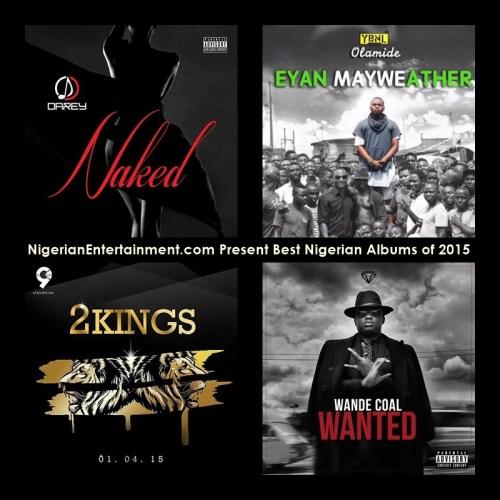 Nigerian Entertainment Present Best Nigerian Albums of 2015