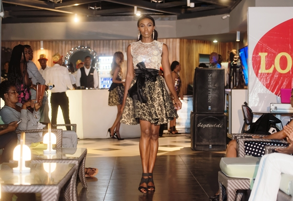 Frank Osodi showcasing Bunor Couture at LoudNProudLive NYE Luxury Edition