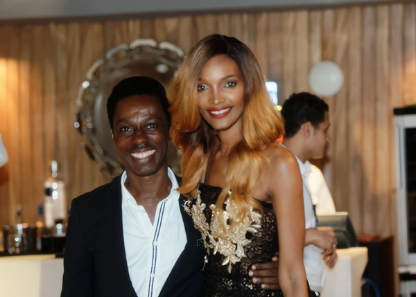 International Super model MC_host and birthday lady Millen Magese with Ovo Ogufere