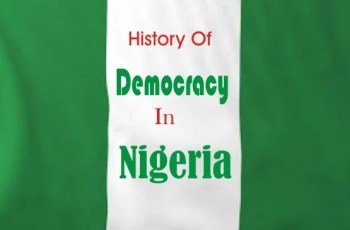 History of Democracy in Nigeria and when did Nigeria became a Republic?