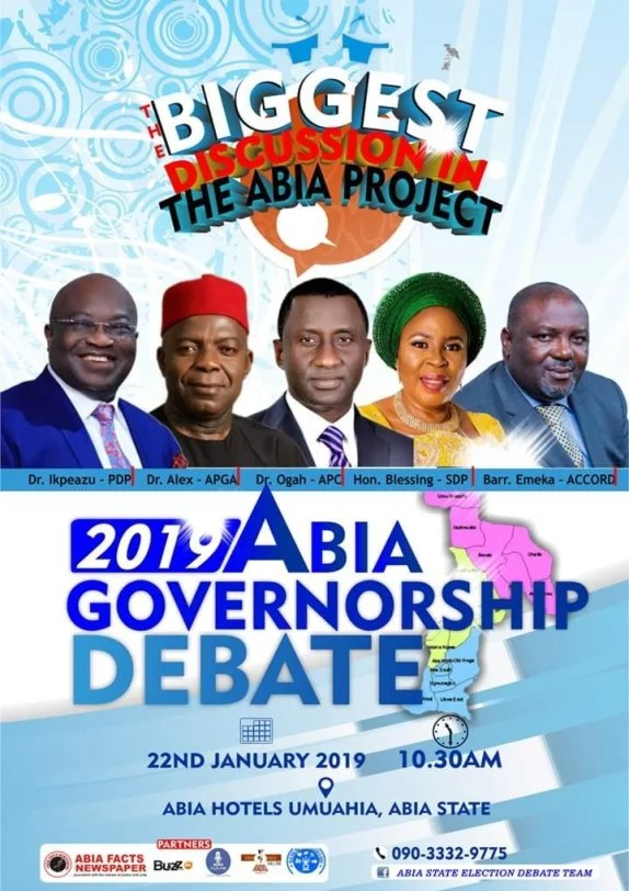 Abia Governorship Debate for the 2019 Election