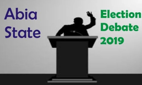 Abia State Election Debate Time Table for the Forthcoming 2019 Elections