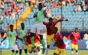 Kenneth Omeruo headed in the only goal that gave Nigeria victory against Guinea, this made the Super Eagles became the first country ti qualify fir the round of 16 in 2019 AFCON
