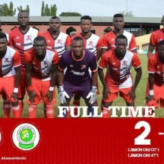NPFL Week 1 Fixture: Abia Warriors Defeated Katsina United by 2 Goals to Nil
