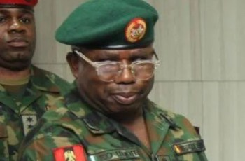 Major General Enobong Udoh, DIrector Training and Operations in the Nigerian Army