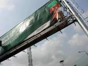 Emeka Ihedioha billboard torn down
