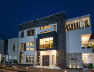 Odion Ighalo's house in Lekki, Nigeria