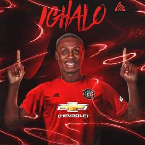 Odion Ighalo becomes the first Nigerian Player to play for Manchester United