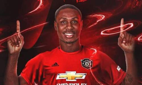Odion Ighalo - The First Nigerian Player to Play for Manchester United