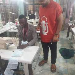 """Abia State Manufacturers Produces """"Made in Aba"""" PPEs to Combat COVID-19 (Photo News)"""
