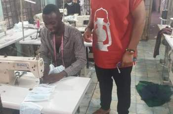 "Abia State Manufacturers Produces ""Made in Aba"" PPEs to Combat COVID-19 (Photo News)"