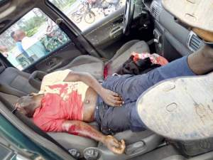 A driver conveying food stuffs killed by a Nigeria Security and Civil Defence Officer in Abia - Photo 1
