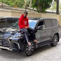 Flavour Acquires a Brand New Lexus LX 2020 Worth Over N31m Amidst the Pandemic