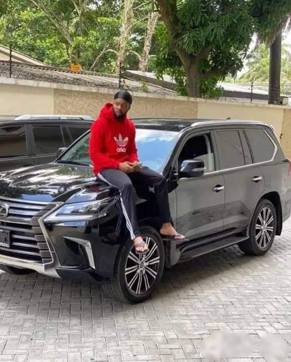 Flavour N'abania acquires a brand new Lexus LX 2020 worth over 30 Million Naira