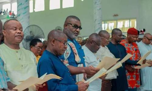List of Abia State Commissioners Sworn-in by Gov Ikpeazu on October 26, 2021